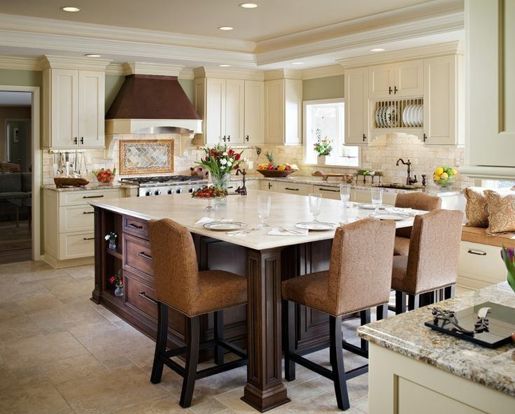 10 Perfect Kitchen Island Table Designs  Housely
