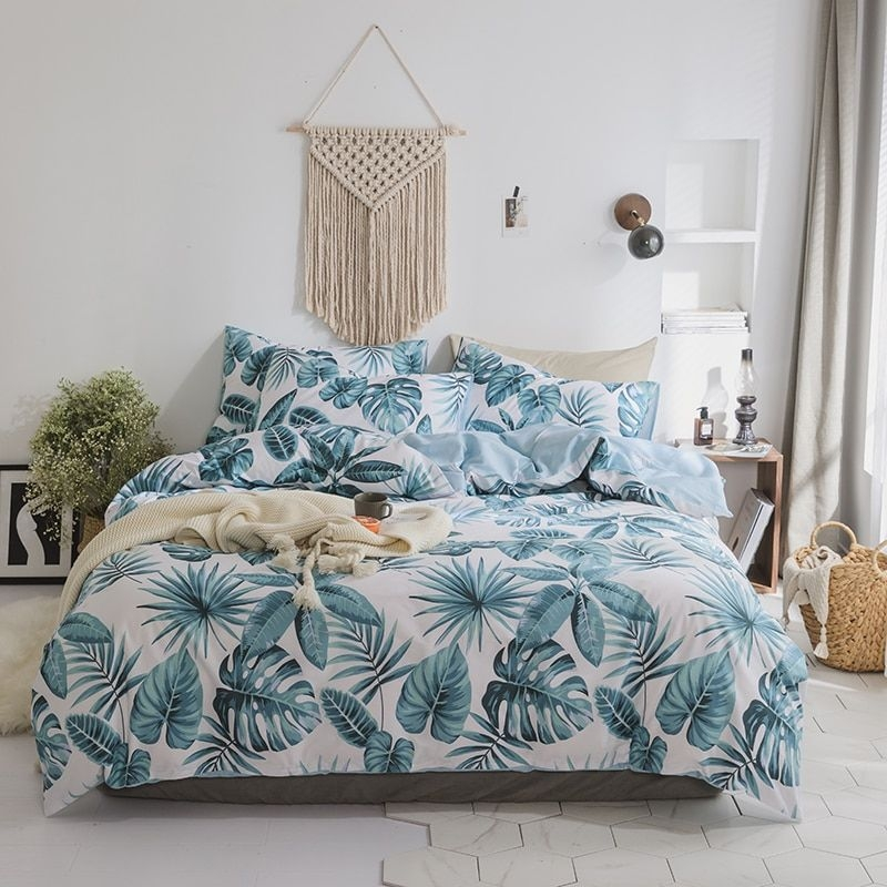 100Cotton Soft Fabric Cute Bedding Set For Kids Children Adults Twin Queen King Size Bed Set