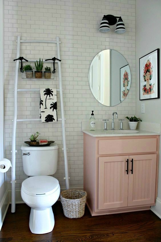 11 Easy Ways To Make Your Rental Bathroom Look Stylish  First Apartment Decorating Cute
