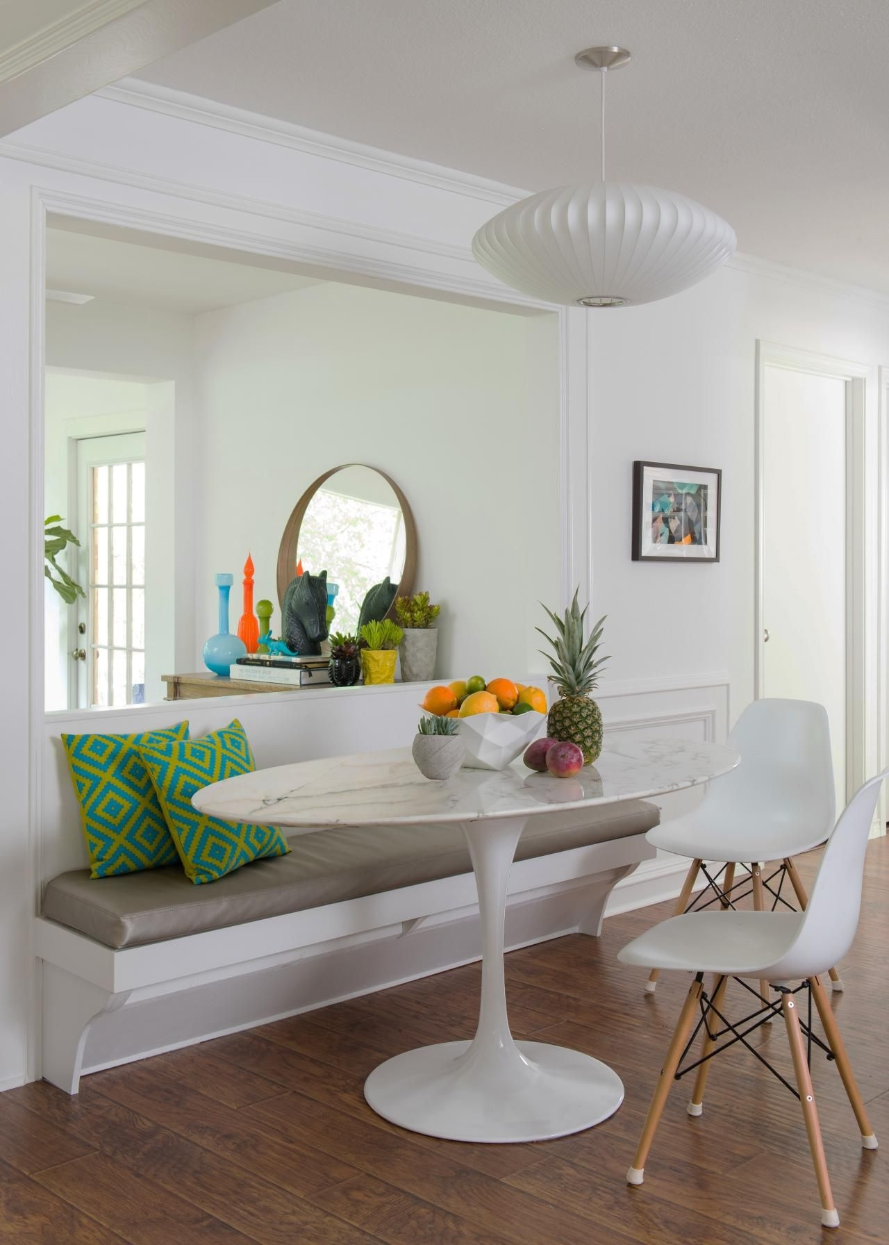 12 Ways To Make A Banquette Work In Your Kitchen  Hgtv'S Decorating  Design Blog  Hgtv