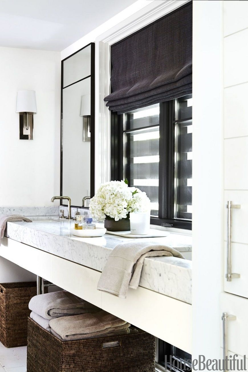 12 White Bathrooms For Every Luxury Bathroom Decor Style