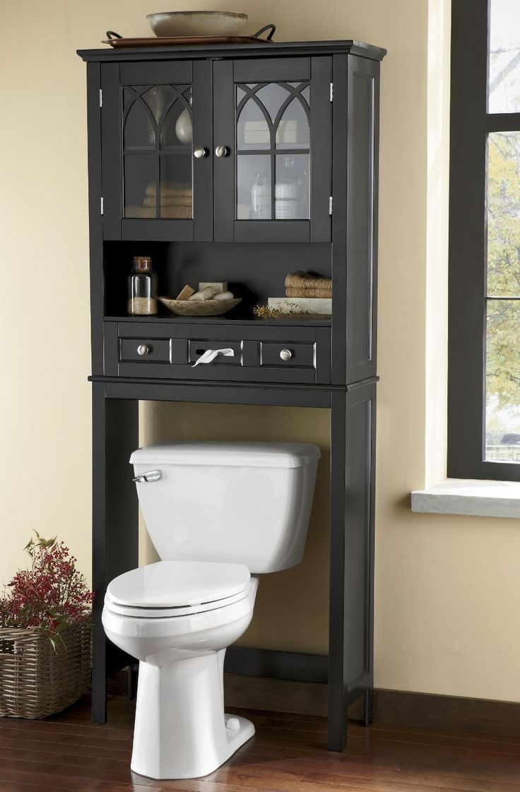 23 Best Over The Toilet Cabinets Images On Pinterest  Bathroom Bathroom Organization And