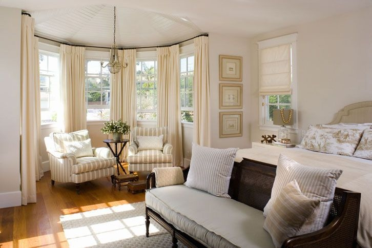 24 Best Bay Window Ideas  Tips Images On Pinterest  Beach Colors And Curtain Ideas