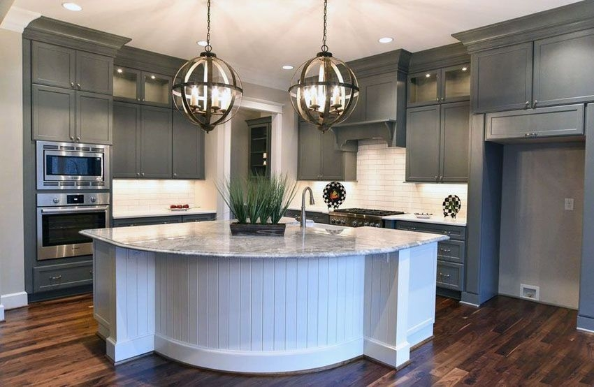 30 Gray And White Kitchen Ideas  Grey Kitchen Cabinets Gray White Kitchen Grey Cabinets