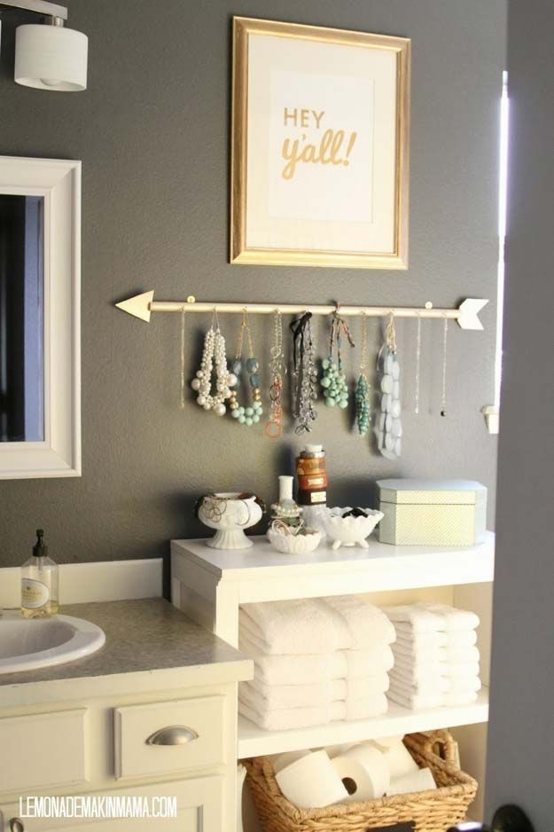35 Fun Diy Bathroom Decor Ideas You Need Right Now  Diy Bathroom Decor Home Decor Decor
