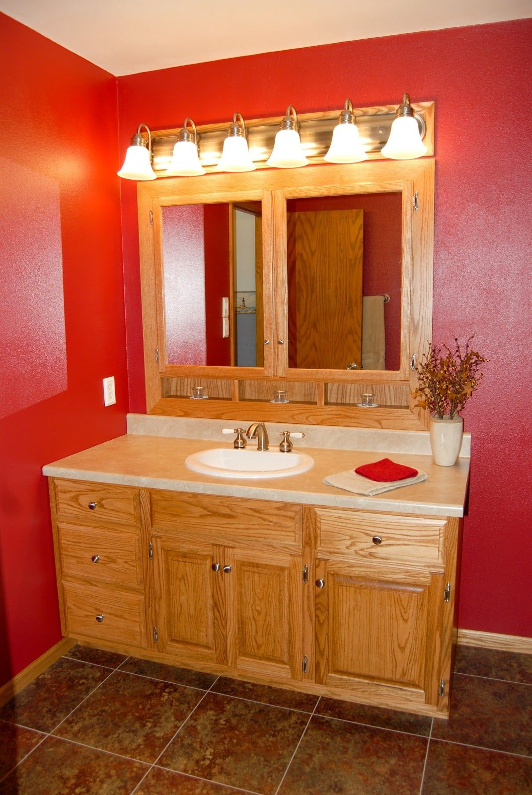 50 Great Oak Bathroom Vanities And Cabinets  Decor  Design Ideas In Hd Images  Fromthearmchair