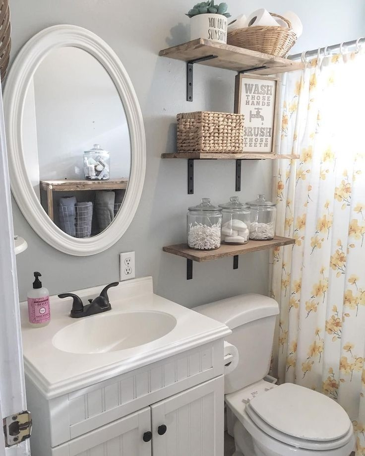 8 Bathroom Floating Shelves Design To Save Room  Bathroom Shelves For Towels Small Bathroom