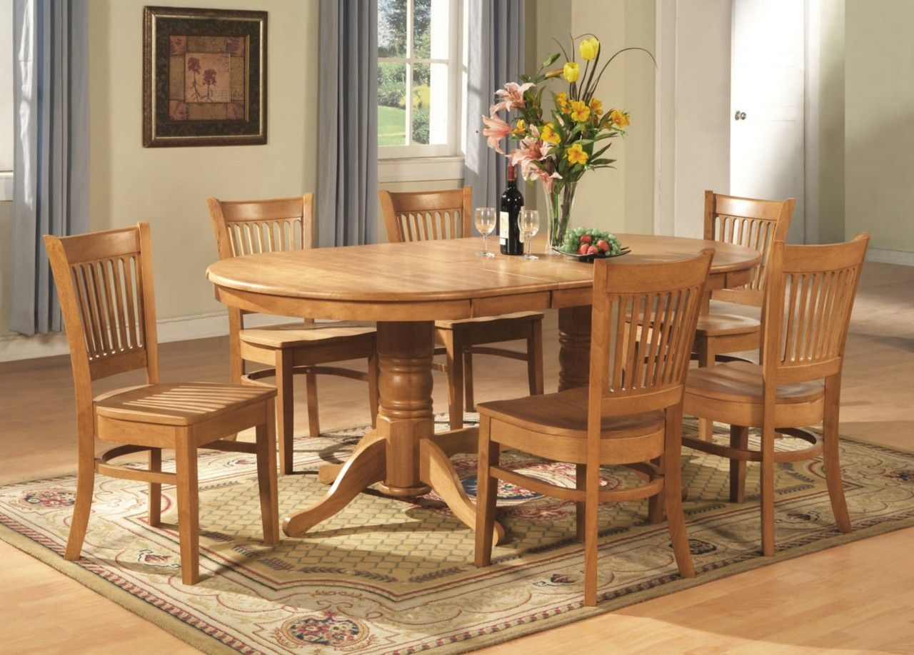 9Pc Vancouver Oval Dinette Kitchen Dining Room Set Table