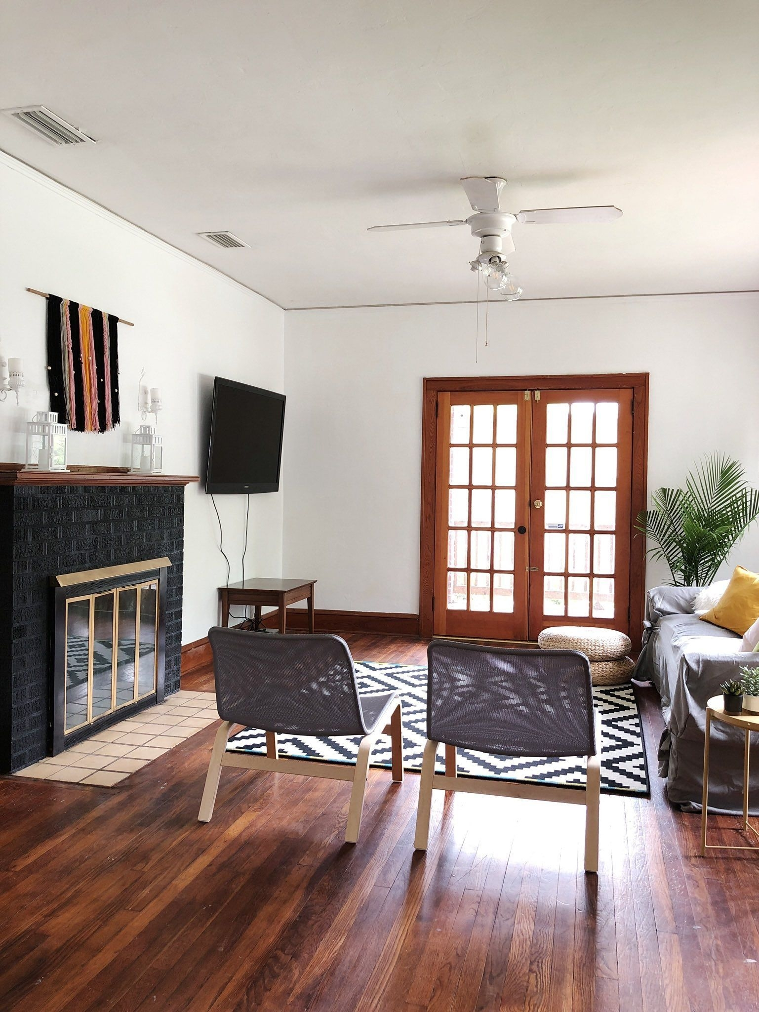 A Modern Minimalist Living Room Makeover On A Budget With Images  Minimalist Living Room