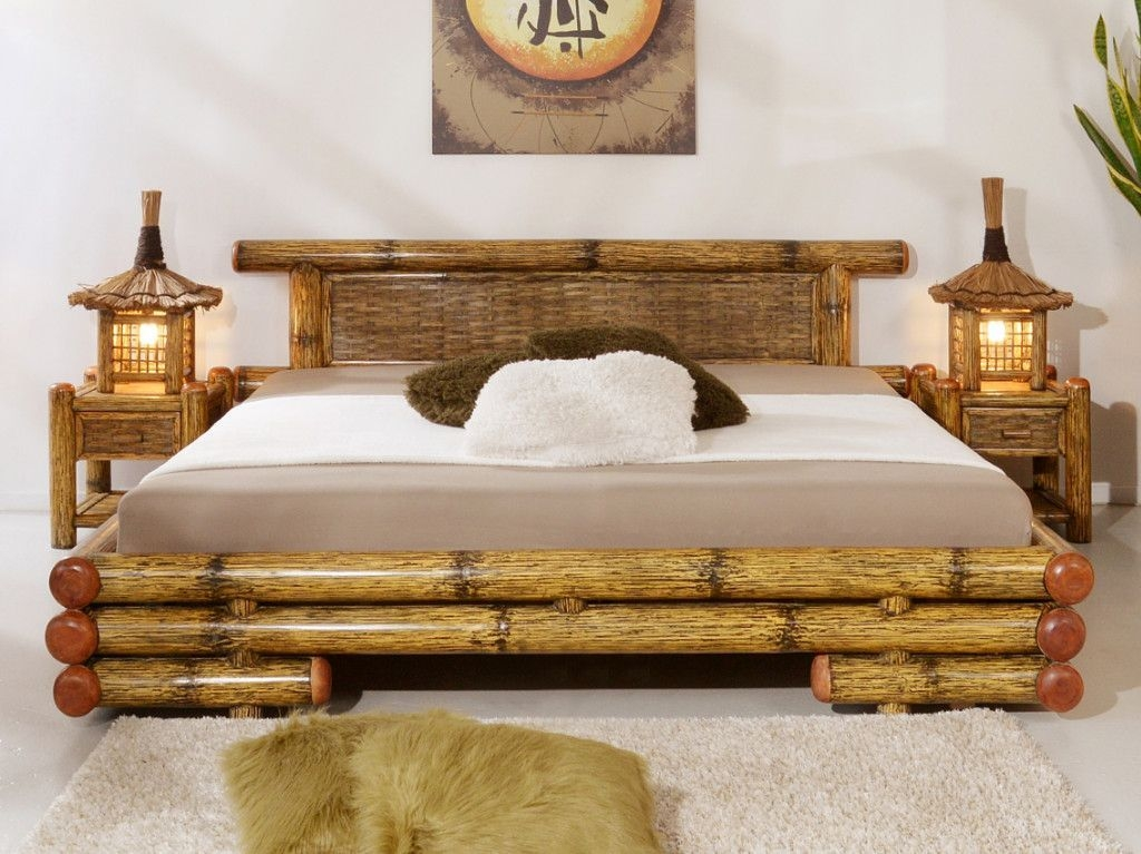 Antique Bamboo Bedroom Furniture  Ideas To Use Bamboo Bedroom Furniture For A Pleasant Look