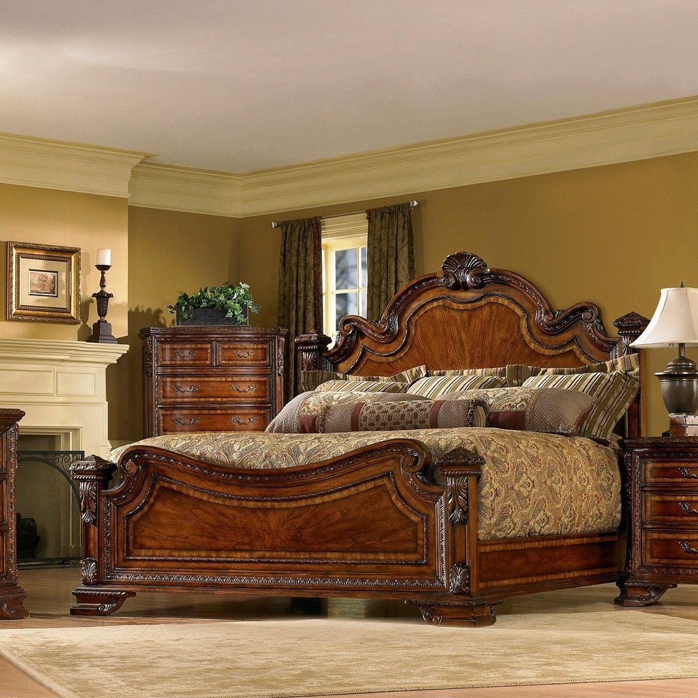 Art Furniture'S Old World Wood Bedroom Furniture Collectionhumble Abode…  Old World