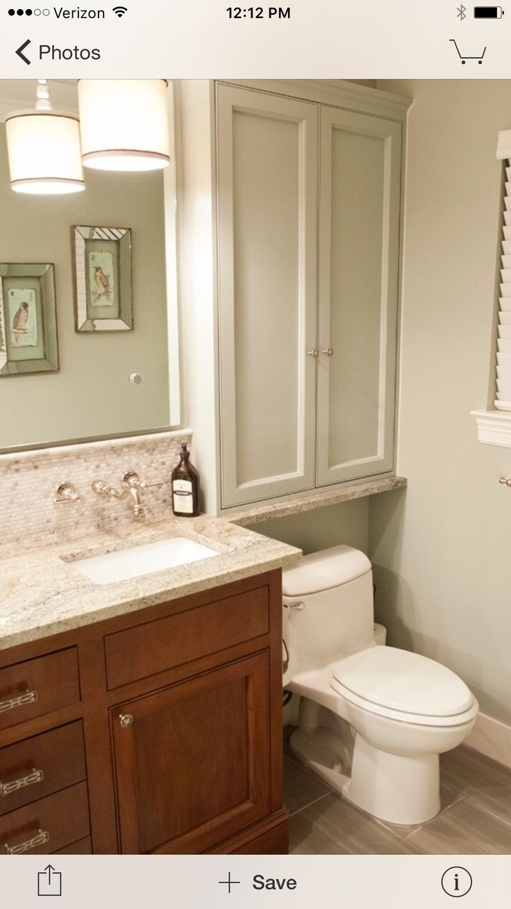 Bathroom Above Toilet Cabinet For Easy Access — Michellelynnmusic