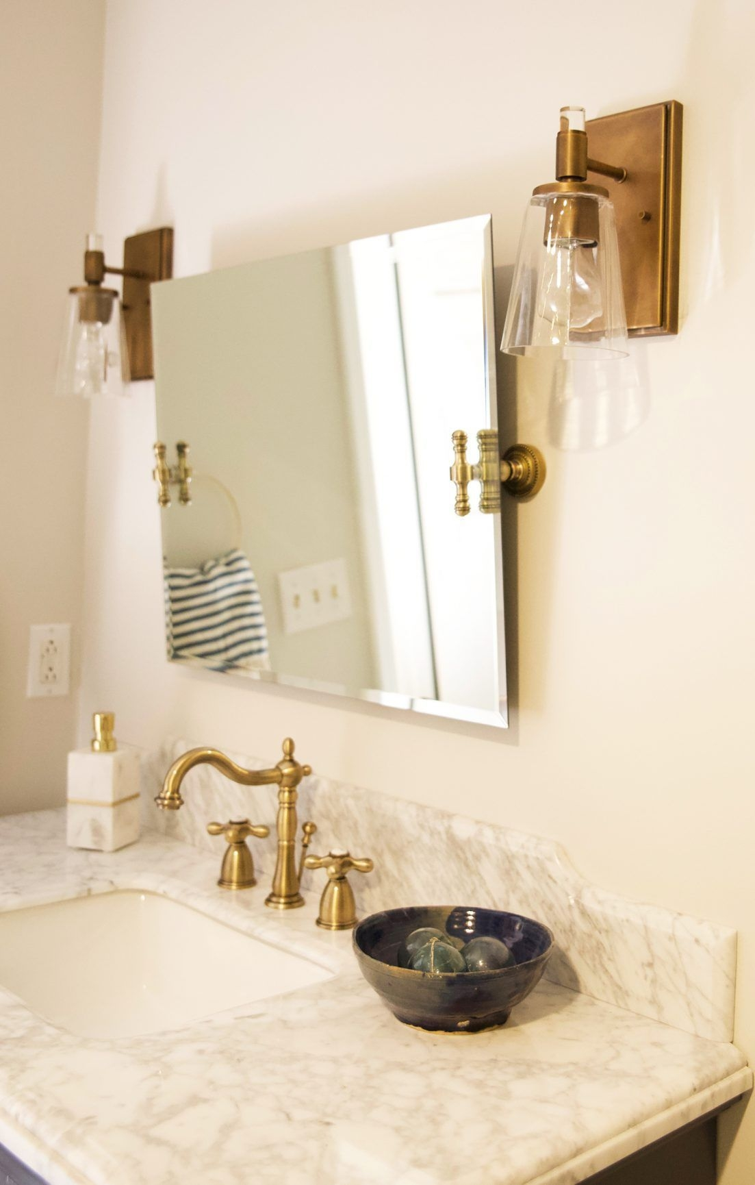 Bathroom Reveal With Wayfair  Bathroom Handmade Home Home Decor