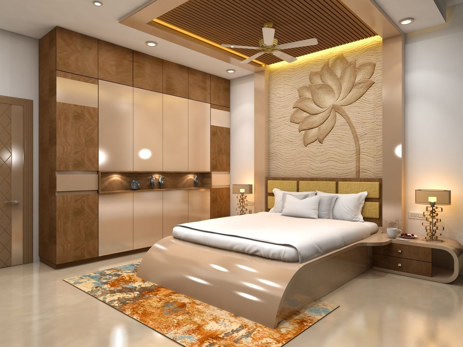 Bedroom Interior  Modern Bedroom Interior Bedroom False Ceiling Design Bedroom Furniture Design