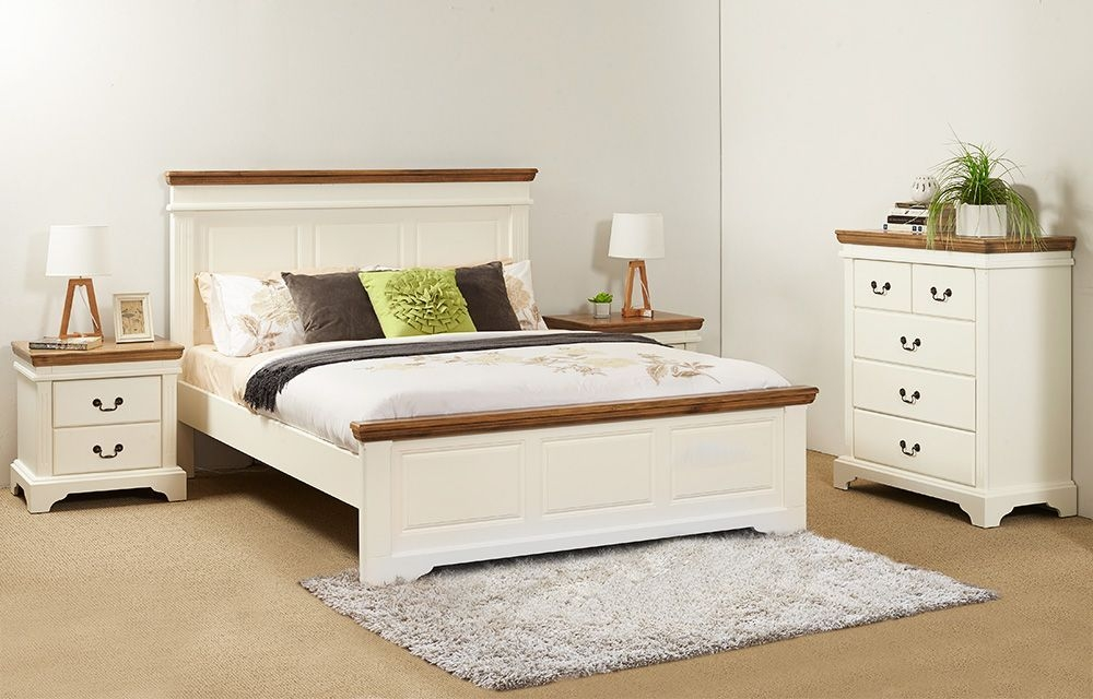 Beds And Packages  Jessica 3Pce Queen Bedroom Suite Perth Western Australia  Furniture Bazaar