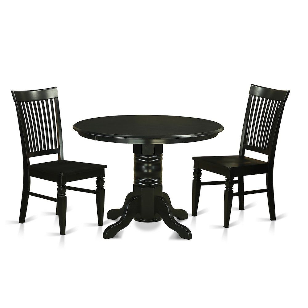 Bisonoffice 3 Pc Kitchen Nook Dining Setkitchen Dinette Table And 2 Dining Chairs  Rakuten