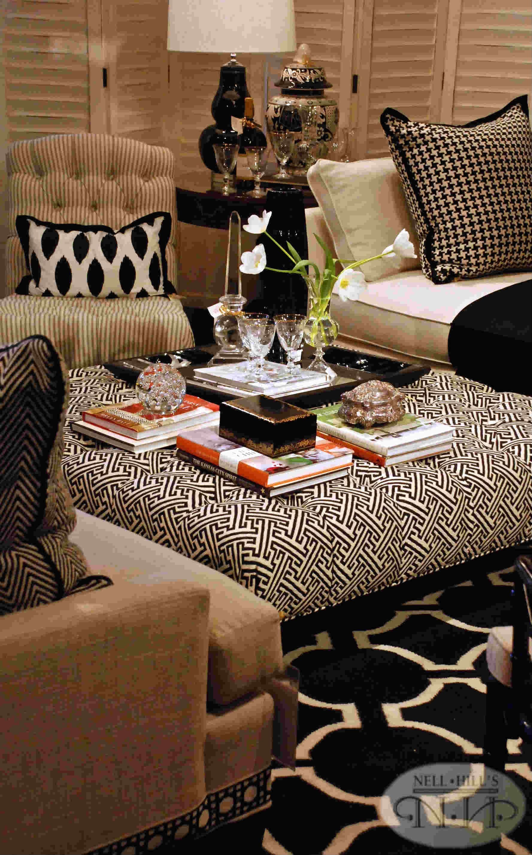 Black And White Living Room Nellhills Classic Sleek  Living Room Candidate Tan Living Room