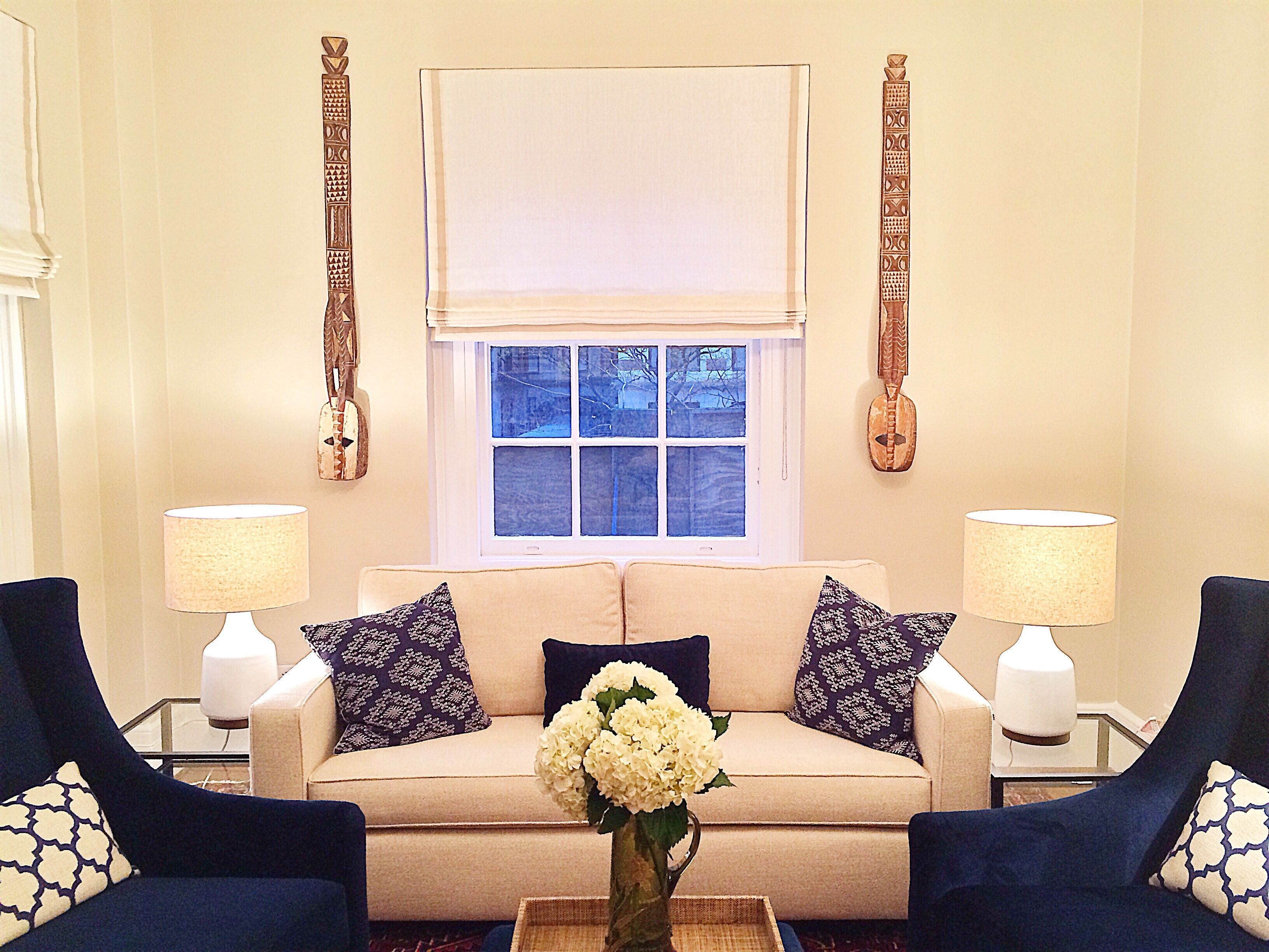 Clean And Fresh Navy Cream Living Room  Blue Cream Living Room Cream Living Rooms Cream