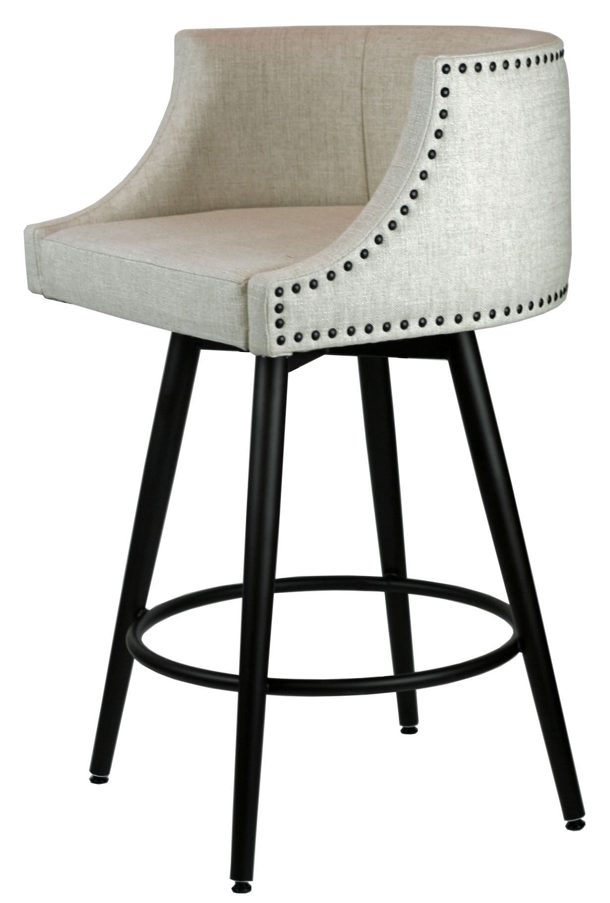 Comfortable Swivel Stool Wmemory Return  Kitchen Stools With Back Stools With Backs Leather