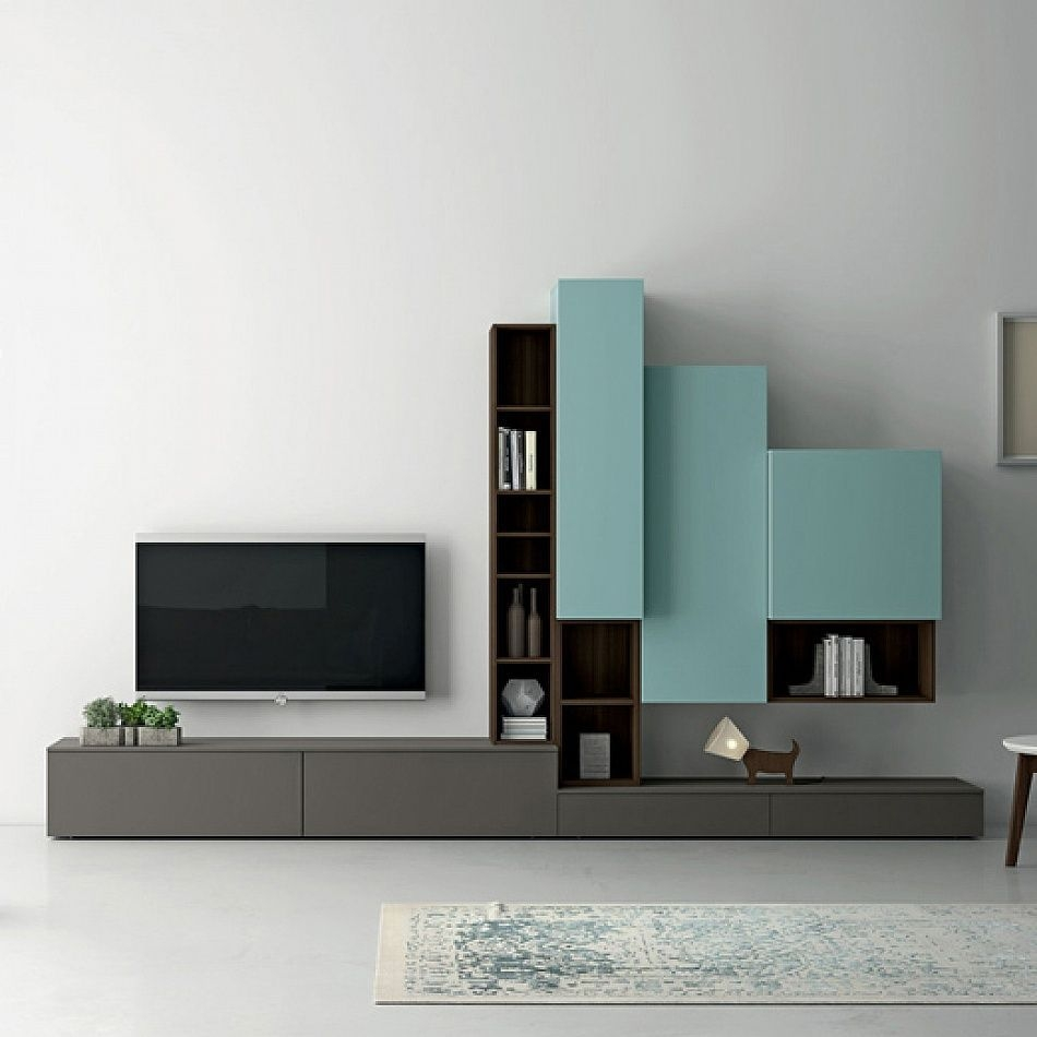 Contemporary Italian Design Tv Unit Slim Idall'Agnese Contemporaryfurniture