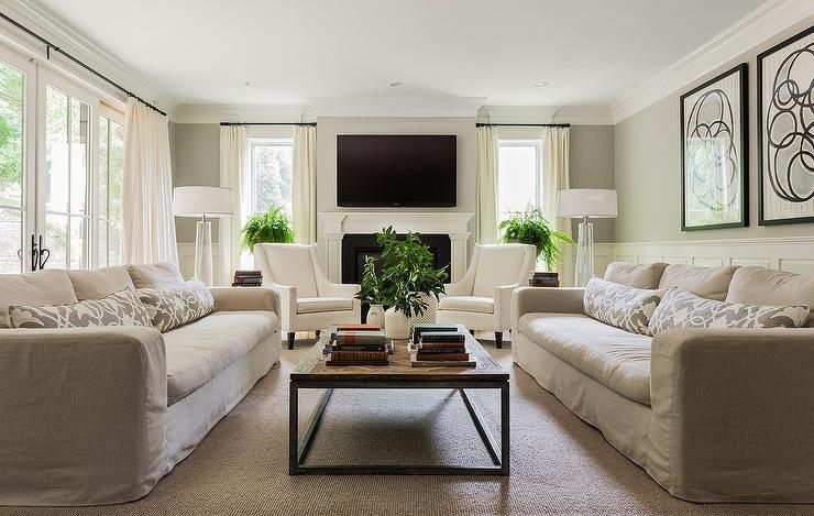 Cottage And Vine Client Inspiration  The Tale Of Two Sofas