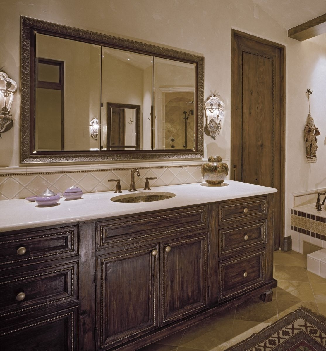 Custom Bathroom Cabinetry  Master Bathtilde Design Studio  Custommade