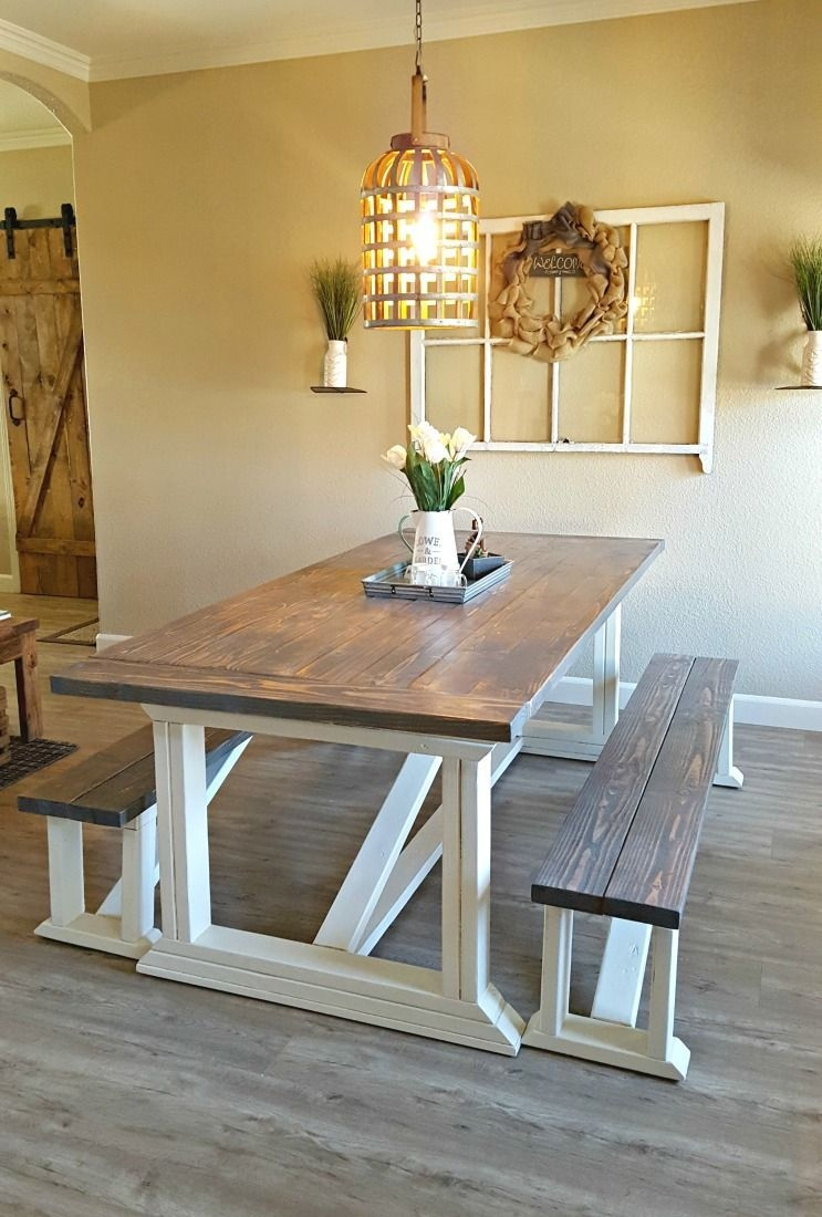 Diy Farmhouse Table  Farmhouse Dining Room Table Farmhouse Kitchen Tables Farmhouse Table Plans