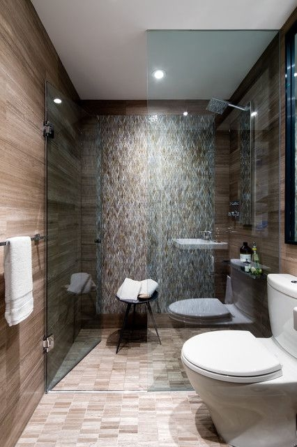 Downtown Toronto Condo  Contemporary  Bathroom  Toronto Toronto Interior Design Group