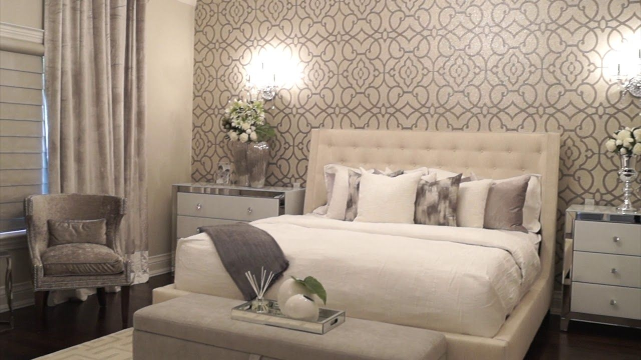 Elegant Master Bedroom Makeover  Youtube
