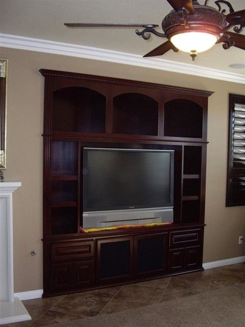 Entertainment Centers  Traditional  Living Room  Orange County Woodwork Creations