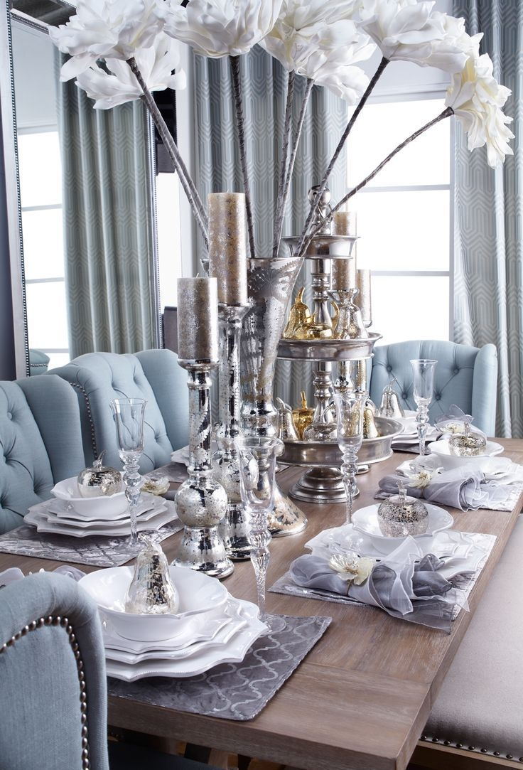 From Our Fallwinter Entertaining Guide Neutral Tones With Pops Of Venetian Blue And Mix
