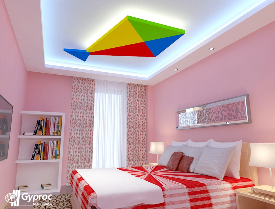 Get In The Festive Mood With Gyproc Falseceilings Visit Wwwgyprocin  Bedroom False Ceiling