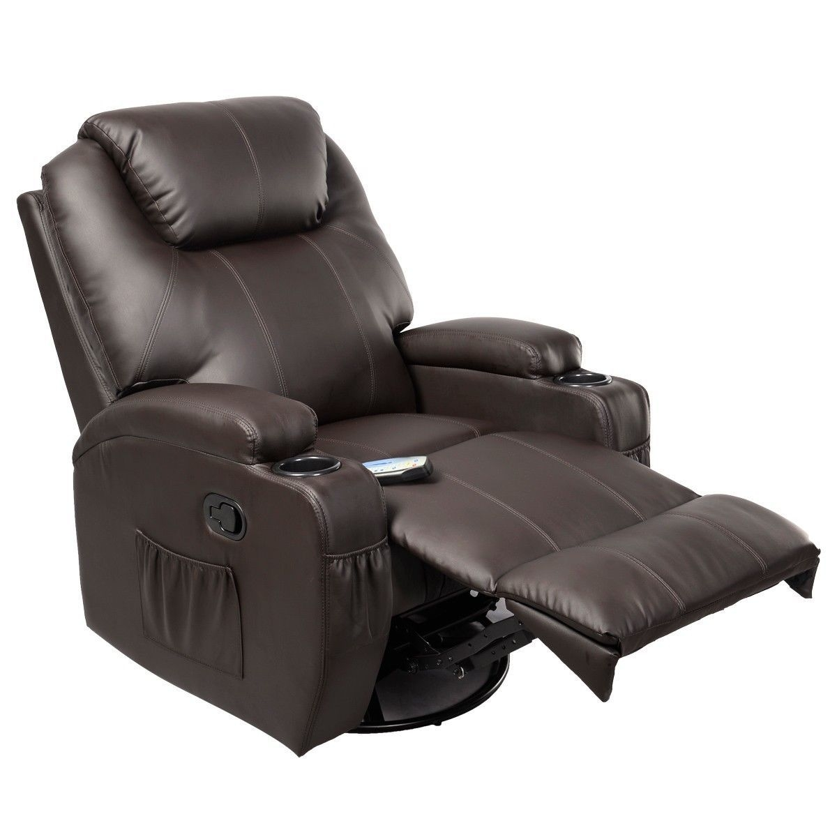Giantex Ergonomic Massage Sofa Chair Modern Lounge Executive Heated Electric Massage Chairs With