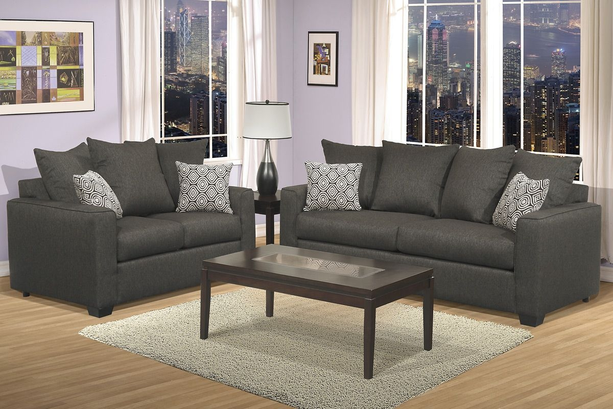 Home Elements And Style Dark Gray Sofa Ideas Ikea Decorative Pillows Unique Accent For Living