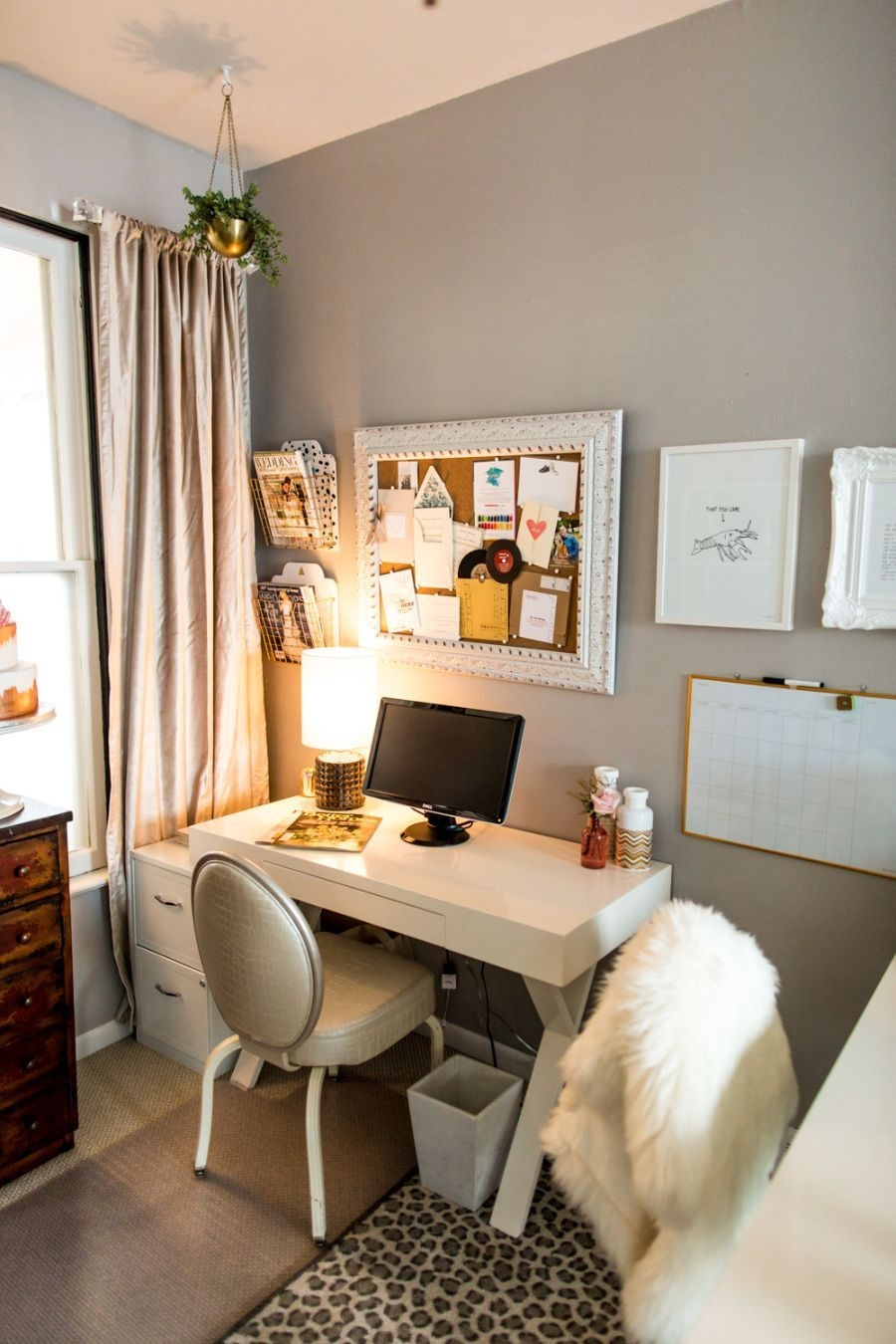 How To Live Large In A Small Office Space  Small Bedroom Decor Small Space Office