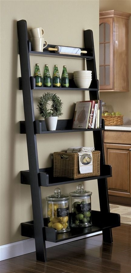 I Love Ladder Bookcasese In Dining Room Or Kitchen  Home Decor Kitchen Wall Decor Decor