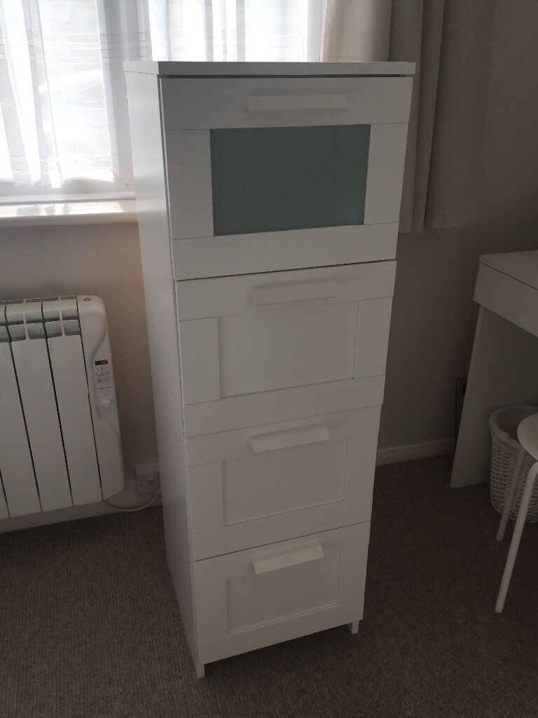 Ikea Brimnes Tallboy 4 Drawers  In Worthing West Sussex  Gumtree