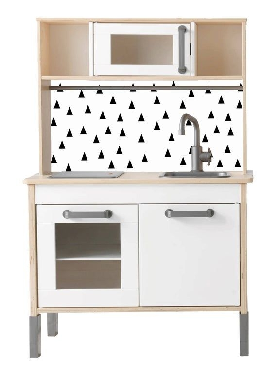 Ikea Duktig Sticker Scandi Monochrome Furniture Sticker  Etsy