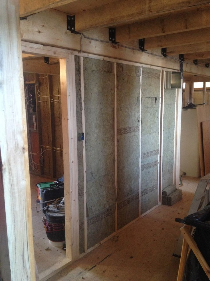 Interior Walls Insulated With Fire Rated Insulation Around Master Bedroom Bathroom And Furna