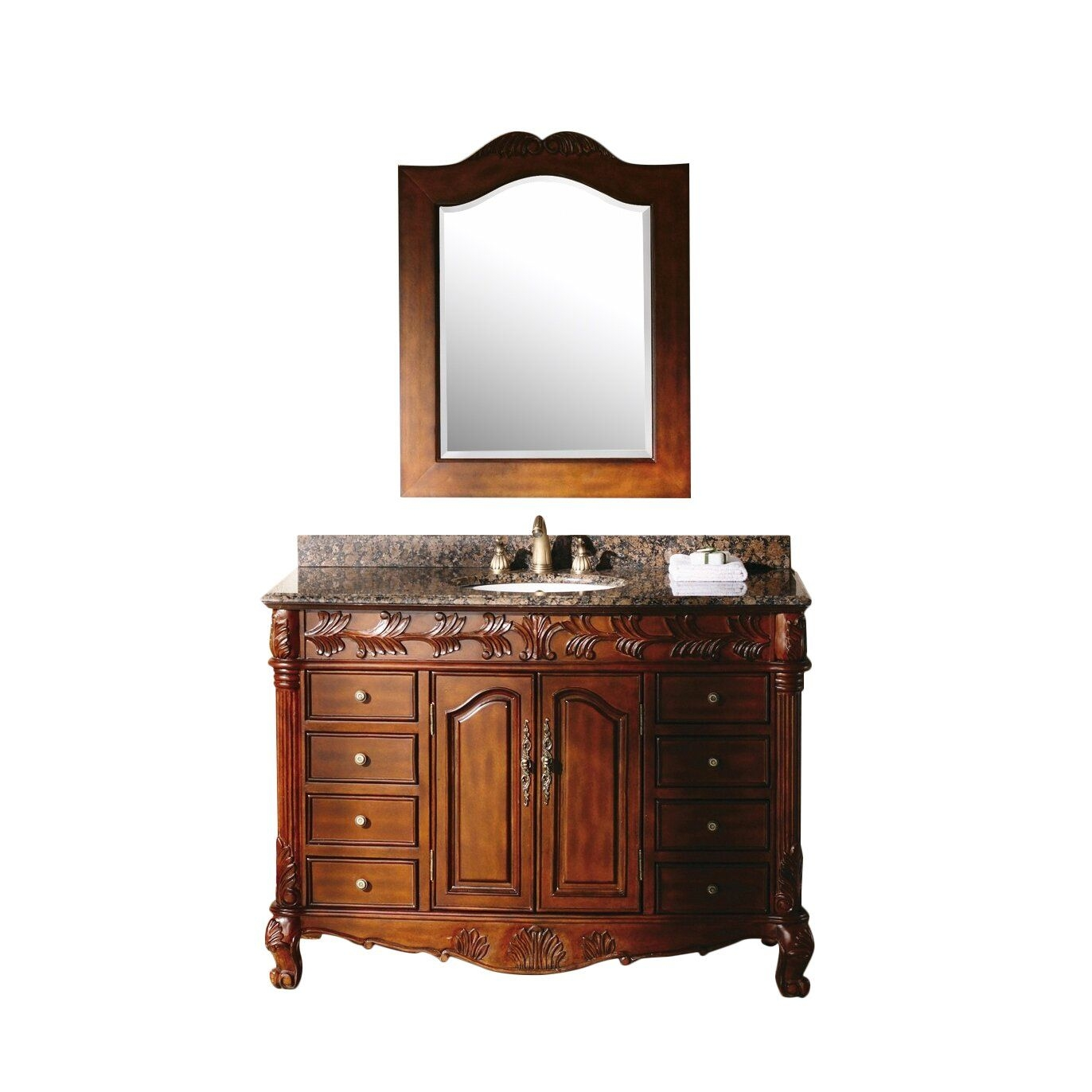 "James Martin Furniture Classico 48"" Single Bathroom Vanity Set  Reviews  Wayfair"