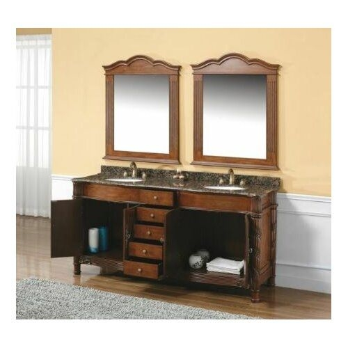 "James Martin Furniture Dalia 72"" Double Bathroom Vanity Set  Reviews  Wayfair"
