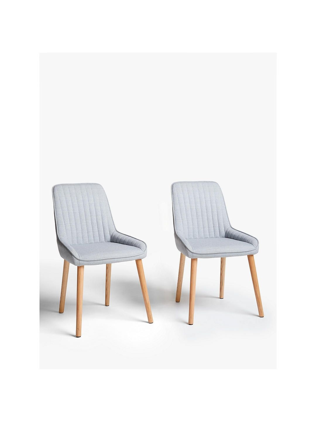 John Lewis  Partners Toronto Side Dining Chairs Set Of 2 Grey  Side Chairs Dining Dining