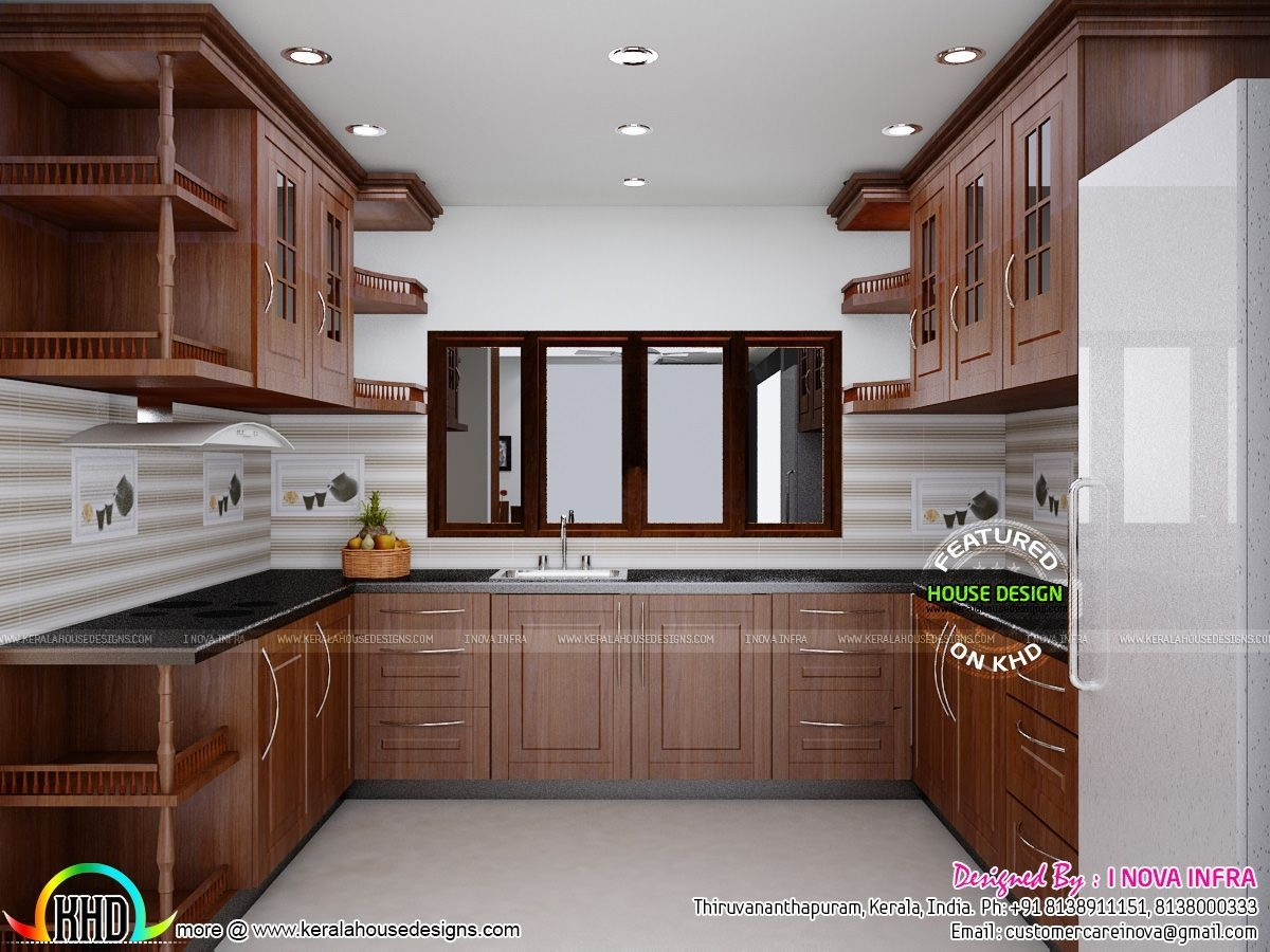 Kerala Traditional Interiors Home Design And Floor Plans Kitchen Designs Small Simple  Kerala