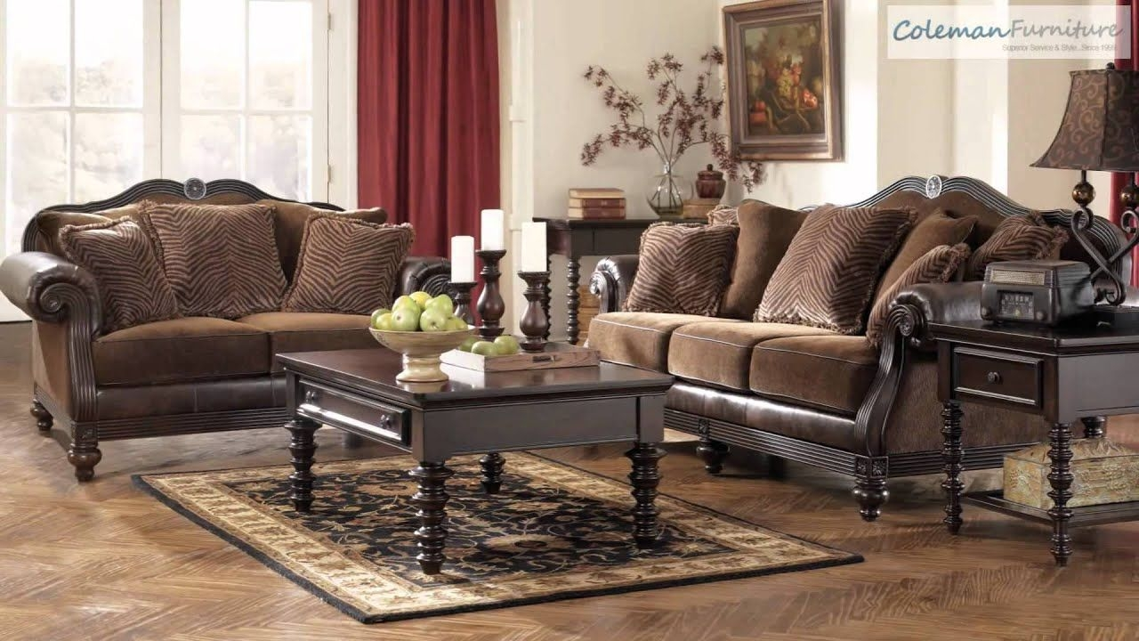 Key Town Truffle Living Room Furniture From Millenniumashley  Youtube
