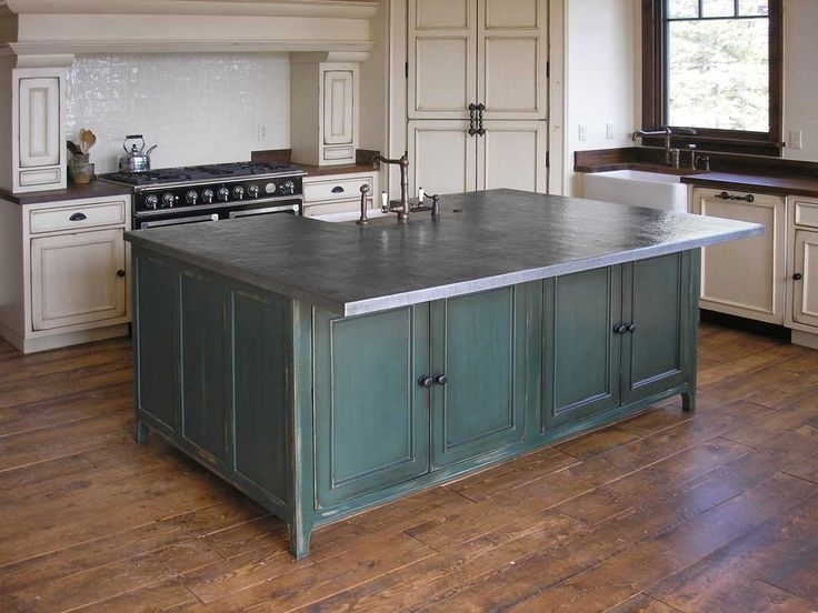 Kitchen Countertops Let Me Count The Options  Metal Countertops Traditional Kitchen Design