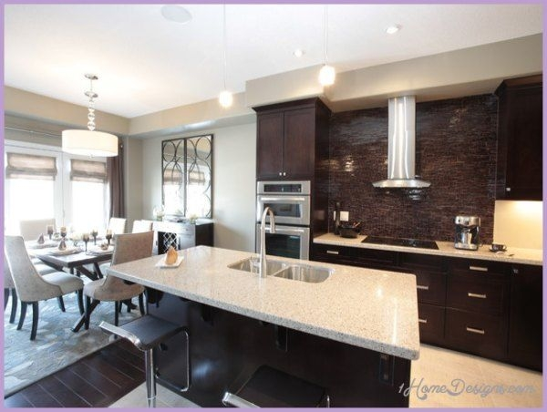Kitchen Dining Room Combo Design Ideas  1Homedesigns