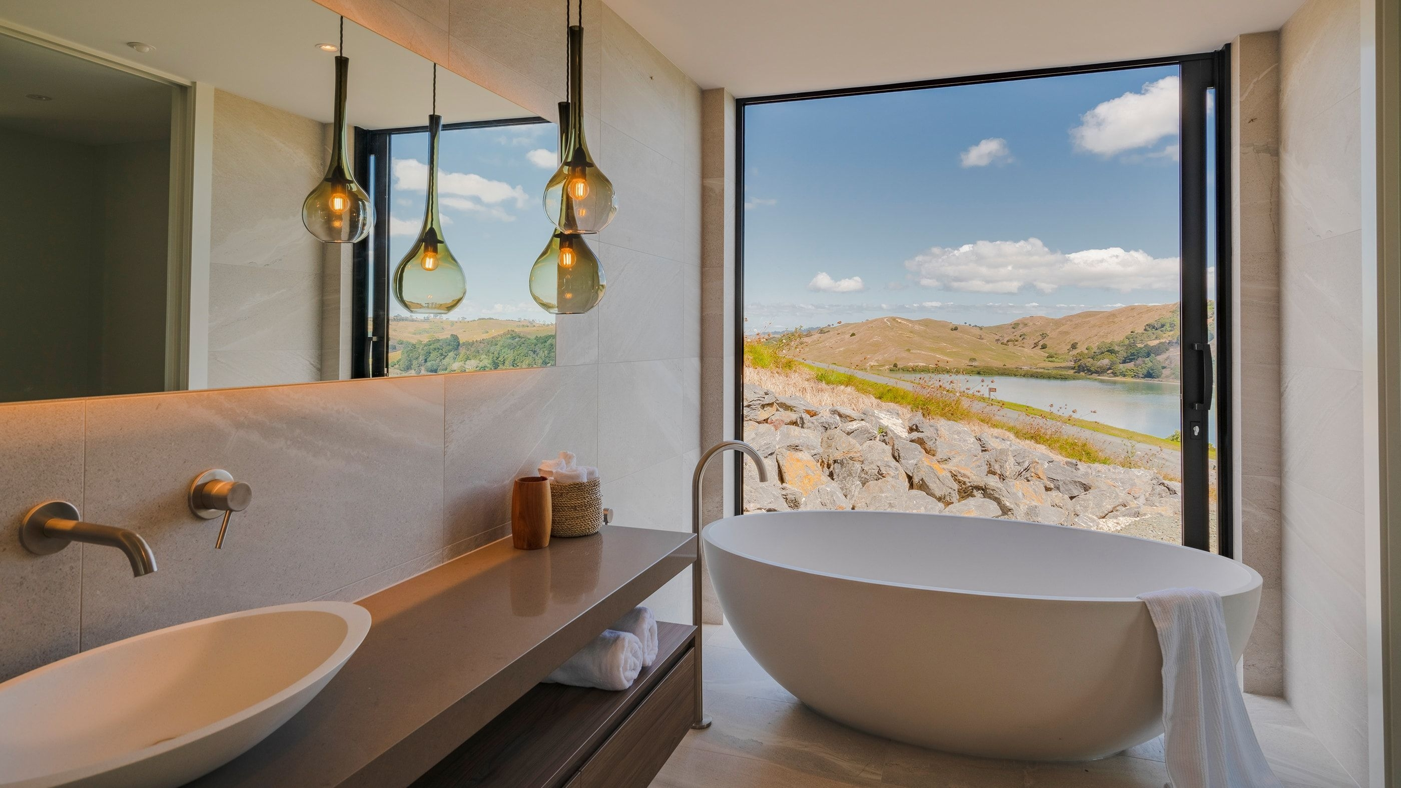 Landmark Homes Named Runnerup In 2019 Tida New Zealand Designer Bathrooms Awards  Landmark