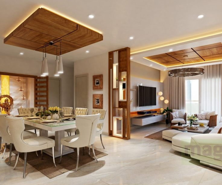 Living Concept  Living Room Interior Designers In Bangalore In 2020  Ceiling Design Living