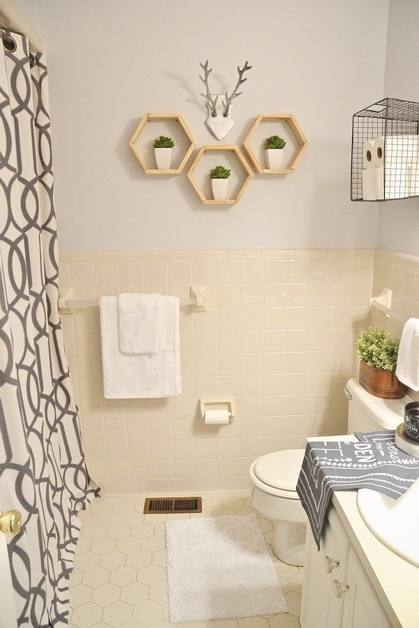 Lmb Rental Bathroom Makeover  Pt 4 Final Reveal  Liz Marie Blog