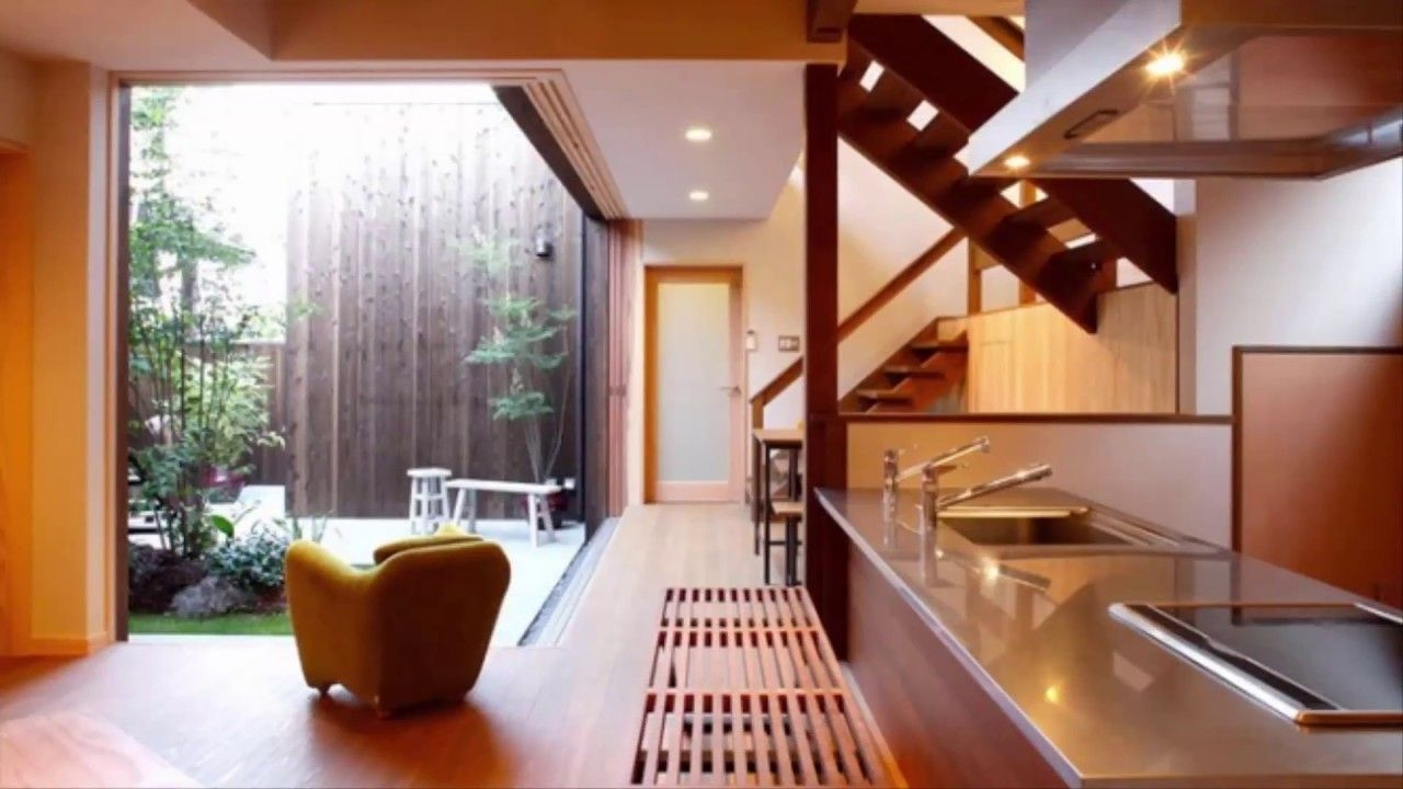 Modern Kitchen Interior Design  Japanese Style  Youtube